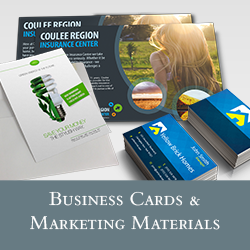 Business Cards & Marketing Materials
